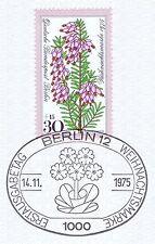 Berlin 1975: Weihnachtsmarke Nr. 514 mit ovalem Ersttags-Sonderstempel! 1A! 1510
