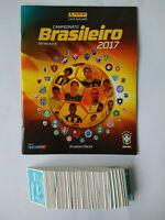 Panini BRAZILIAN CHAMPIONSHIP 2017 - Empty Album + Complete Set Stickers