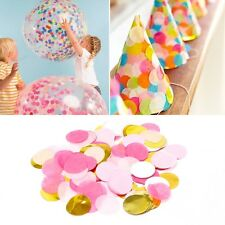 1000Pcs Paper Circles Throwing Confetti Wedding Party Table Birthday Decoration