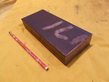A 36 Steel Flat Bar Stock Tool Die Machine Shop Plate 1 12 X 3 12 X 8 Oal