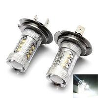 2PC H7 80W CREE LED Super Bright Fog Tail Driving Head Car Light Lamp Bulb Hoc