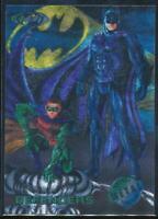 1995 Batman Forever Metal Trading Card #95 Defenders