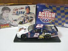 1:24 Rusty Wallace #2 ELVIS PRESLEY 1998 Ford Taurus Die-Cast NASCAR Miller Lite