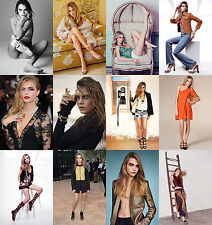 Cara Delevingne - Hot Sexy Photo Print - Buy 1, Get 2 FREE - Choice Of 32