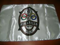 "Pinarello 20x30"" Flag Banner Pista Racing Steel Road Bike Rendezvous Italian"