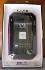 RETAIL Lunatik Taktik Extreme Corning Gorilla Glass HOT PINK iPhone 4 4s Case