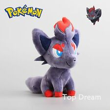 "Pokemon original rare figurine Zorua plush toy stuffed doll 7"" teddy xmat cadeau"
