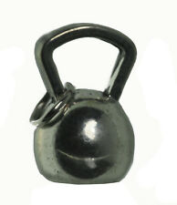 Kettlebell Sterling Silver .925 Charm exercise cardiovascular strength training