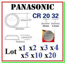 batteria cr2032 panasonic pila bottone 3v litio 2032 coin cell cmos bios pc