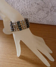 BEAUTIFUL WRAP AROUND BRACELET / NECKLACE PRETTY MIXED BEADS GREAT GIFT #4