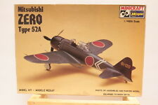 Japanese Zero type 52A 1/48 SCALE MODEL AIRPLANE KIT Opened box complete parts