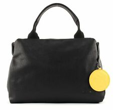 MANDARINA DUCK Mellow Leather Bowling Bag Nero