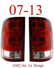 07 13 GMC Tail Light Set 1st Design, Assembly, Truck, Denali, Both Left & Right