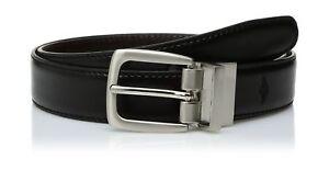 """Dockers Big Boys' Dockers Reversible Black-to-Brown Belt LG (waist 30"""" - 32"""")"""