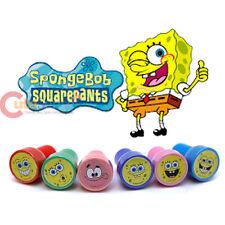 Nick Spongebob Stamps Set Self-Ink Set for 6pc with  Patrick