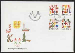 Sweden 2010 FDC Christmas Issue