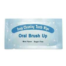 1pc Oral Brush Up Teeth Deep Cleaning Teeth Wipes Whitening P5J9 U3N3 Denta U9C8