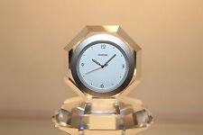 Swarovski Crystal 235432 Providence Table Clock Seiko Movement MINT in Box