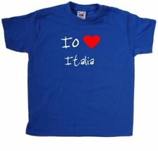 Abbigliamento rosso per bambini dai 2 ai 16 anni 100% Cotone da Italia