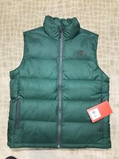 THE NORTH FACE ACONCAGUA VEST NOTTINGHAM GRN SZ LARGE NWT