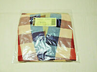 LONGABERGER Large Twist Basket Fabric Liner Only Everyday Plaid Pattern NIP