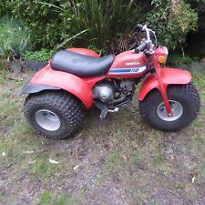 HONDA 3 Wheeler Trike 110 cc with 2 speed transfer Original Condition 1981