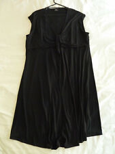 Sara 3 X Black Sleeveless Dress Knot Bust