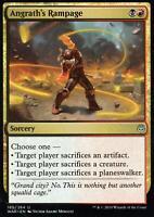 2x Angrath's Rampage   NM/M   War of the Spark   Magic MTG