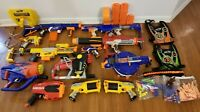 13 Gun Nerf Bundle w/ Attachments, Great Condition, Lots of Extras, Some Vintage