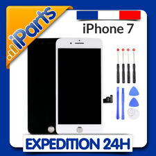 ECRAN IPHONE 7 NOIR ou BLANC - VITRE TACTILE et LCD RETINA SUR CHASSIS + OUTILS