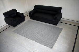 Geometric Handmade Indian Cotton 5'x8' Feet Area Rug Rectangle Oriental DN-1916