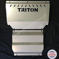 Premium Mitsubishi Triton Bash Plates  ML - MN 3mm Stainless Steel Aussie Made