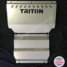 Premium Mitsubishi Triton Bash Plates  ML - MN 3mm Stainless Steel Aussie Made