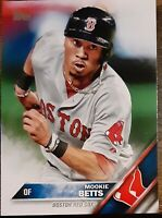 Topps Series One 2016 Mookie Betts Boston Red Sox Baseball Card #84