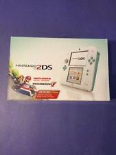 Nintendo 2DS *Sea Green Special Edition + Mario Kart 7 Package* NEW