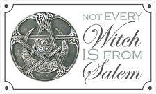 Non ogni Strega è da Salem Adesivo. wicca pagan wicca STREGONERIA