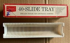 Vintage Sears 40 Slide Tray End-Lock For  Projectors Using TDC-type Plastic Tray
