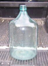 Antique Vintage Rare 12 Gallon 1926 Glass Water Bottle Jug Carboy Demijohn