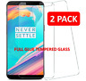 TWIN PACK 9H Tempered Glass Film Full Glue Screen Protector For OnePlus 5
