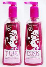 2 Bath Body Works PINK SUGARPLUM Deep Cleansing Antibacterial Hand Soap Wash