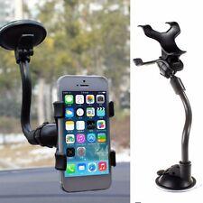 Windshield Mobile Phone Holder Long Arm Car Dashboard Mount Bracket All Phone