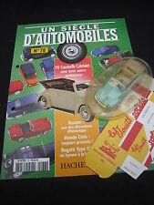 AC907 SOLIDO HACHETTE VW VOLKSWAGEN COCCINELLE CAB 1/43 UN SCIECLE D'AUTOMOBILES