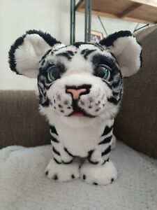 FurReal Roarin' Ivory Playful Tiger White Limited Edition