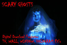 Digital Ghosts In The Window Halloween Decorations & holograms Projector FX