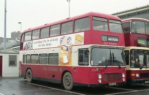 Colour negative, United Automobile, Bristol VR, HUP764T, East Yorkshire
