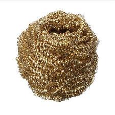 Soldering Iron Tip Rosin Flux Paste Cleaner Ball Remover Wire tips Brass Sponge