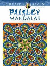 Creative Haven Paisley Mandalas Coloring Book (Adult Coloring) ( Kerrigan, Shala