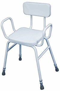 Aidapt Malling Perching Stool with Arms and Padded Back
