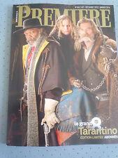 Magazine Première 466/467 Décembre 2015 Edition limitée Abonnée Tarantino