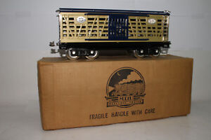 MTH STANDARD GAUGE 1988 TCA CONVENTION CATTLE CAR, EXCELLENT, BOXED, LOT B